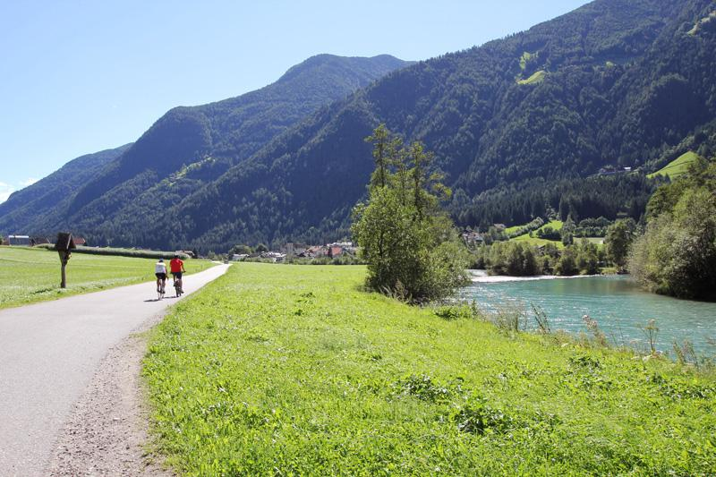 val di tures in bici