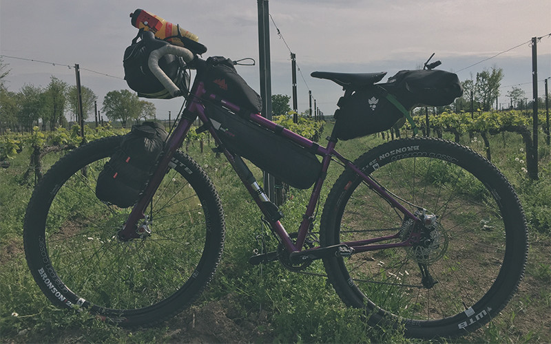 Bici da bikepacking