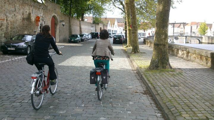 cycling bruges