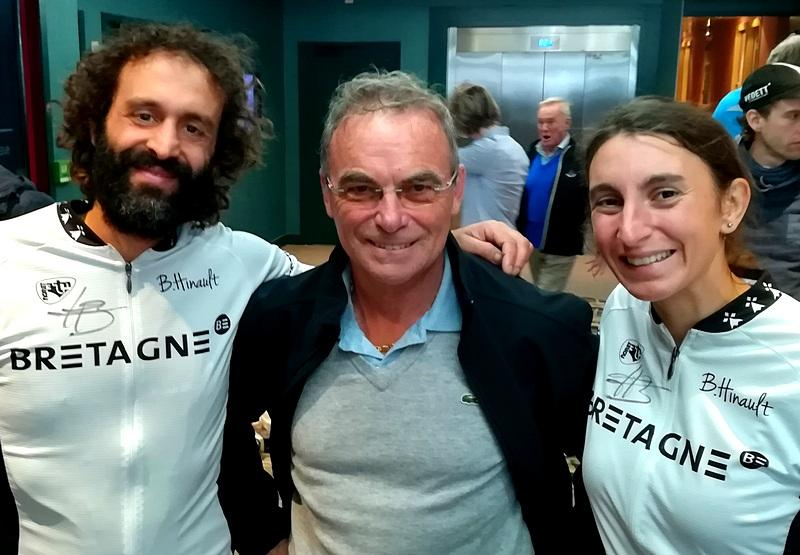 In bici con Hinault