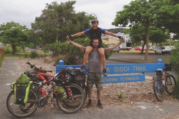 Munda Biddi Trail: a mother-son adventure cycling Australia