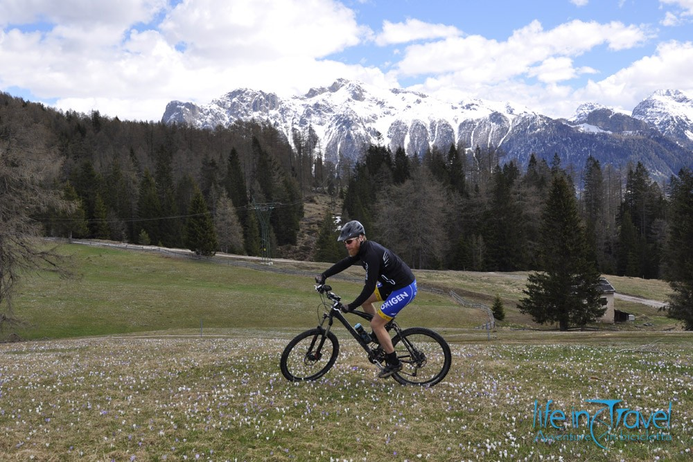 Giro del Latemar in MTB