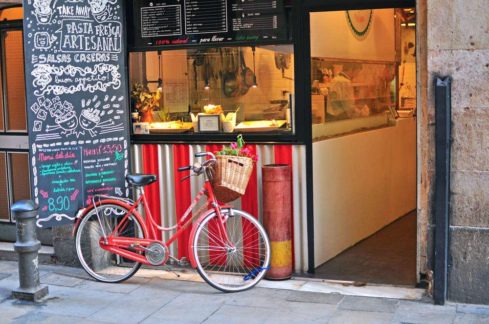 Barcellona in bicicletta