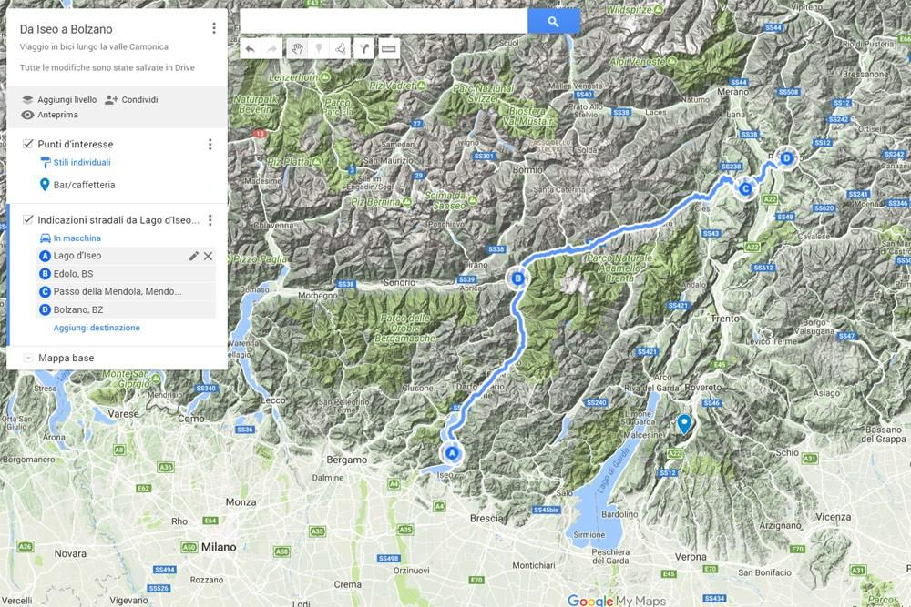 Cartina Italia Google Maps.How To Create A Customised Map With Google Maps Life In Travel