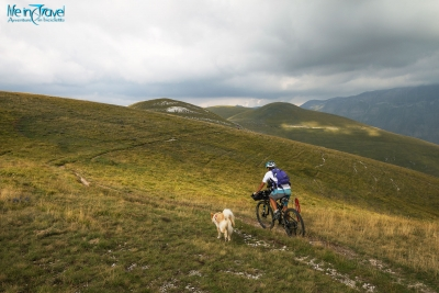 Ring of Sibillini mountains by MTB