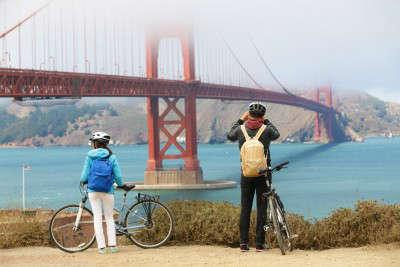 Golden Gate by bicycle