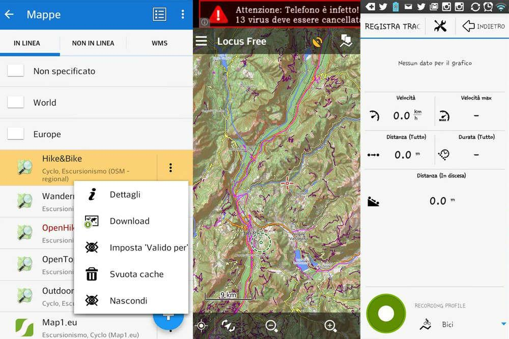 Locus Map Guida Rapida Allapp Gps Per Outdoor Lifeintravelit