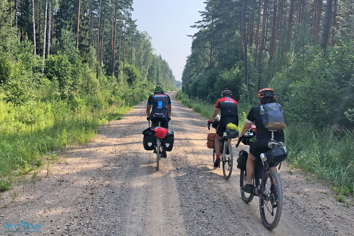 Lettonia Bikepacking