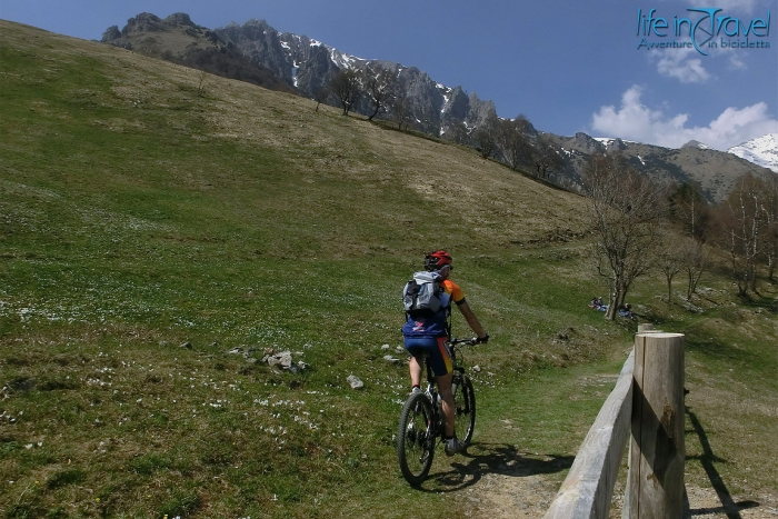 Piani Resinelli in Valsassina on MTB