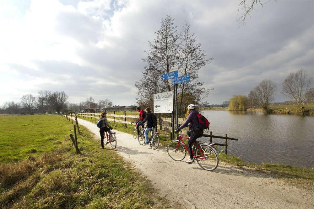 Gent - Deinze in bici