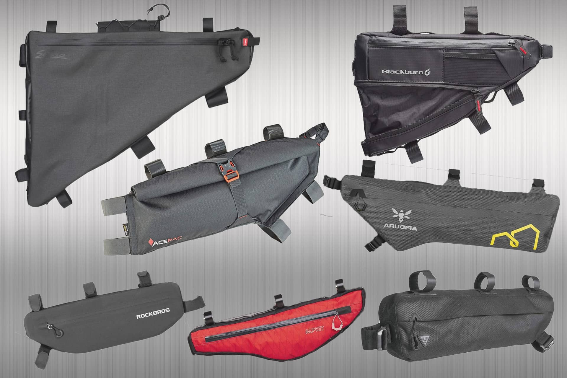 15 of the best bikepacking frame bags